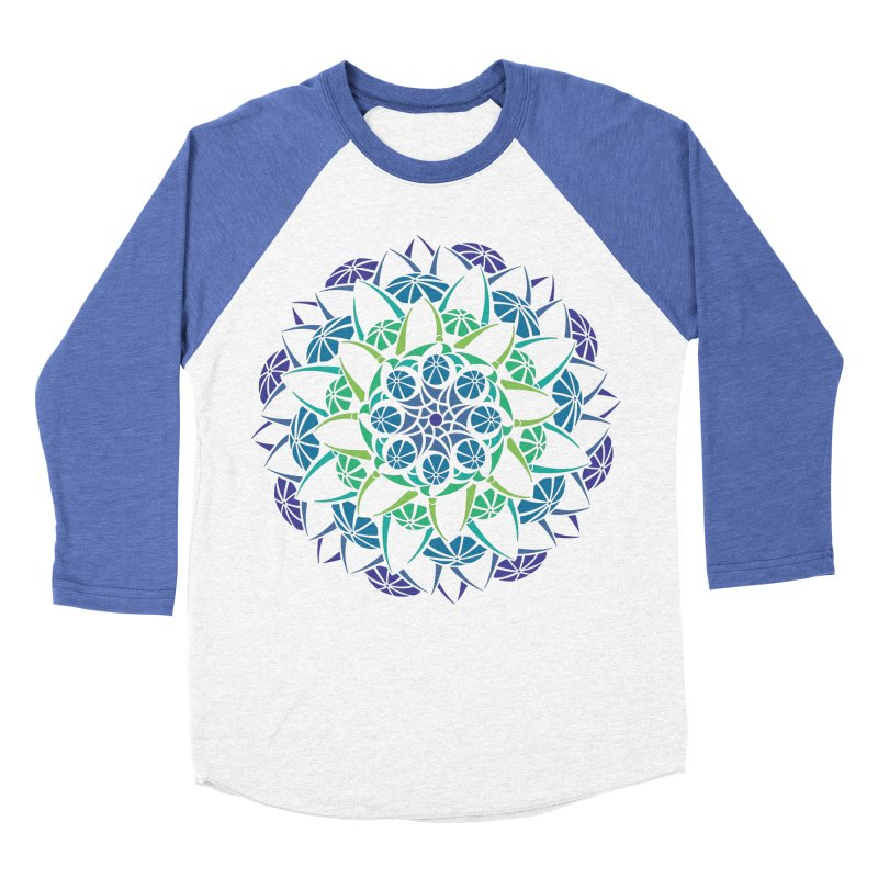 Blooming Women's Baseball Triblend Longsleeve T-Shirt by tomcornish's Artist Shop