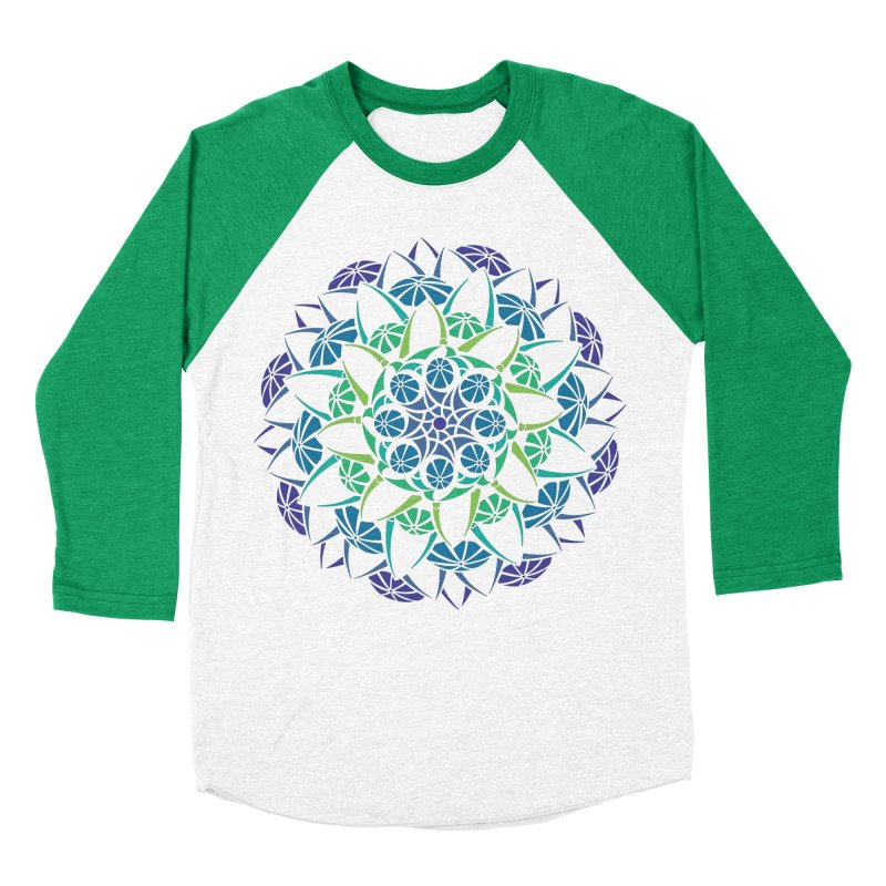 Blooming Women's Baseball Triblend T-Shirt by tomcornish's Artist Shop