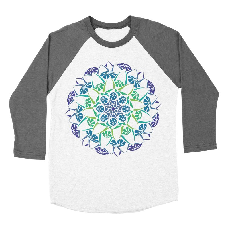 Blooming Men's Baseball Triblend Longsleeve T-Shirt by tomcornish's Artist Shop