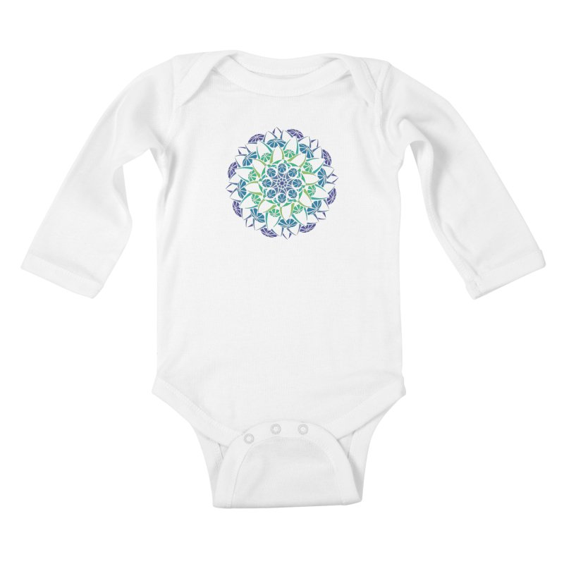 Blooming Kids Baby Longsleeve Bodysuit by tomcornish's Artist Shop