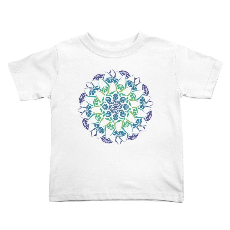 Blooming Kids Toddler T-Shirt by tomcornish's Artist Shop