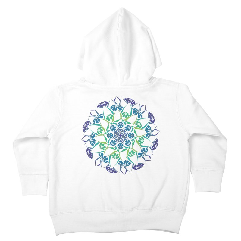 Blooming Kids Toddler Zip-Up Hoody by tomcornish's Artist Shop