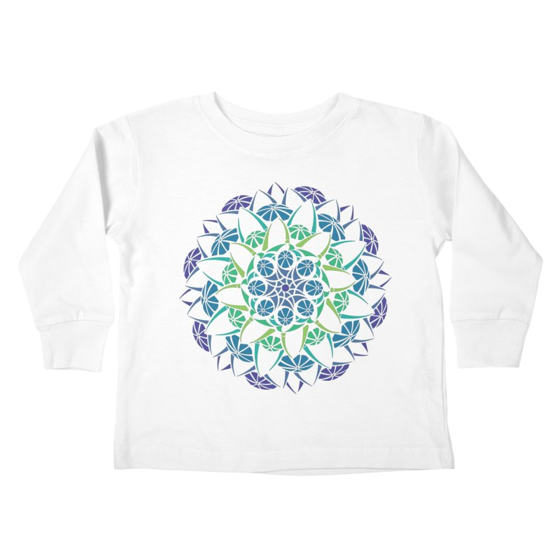 Blooming Kids Toddler Longsleeve T-Shirt by tomcornish's Artist Shop