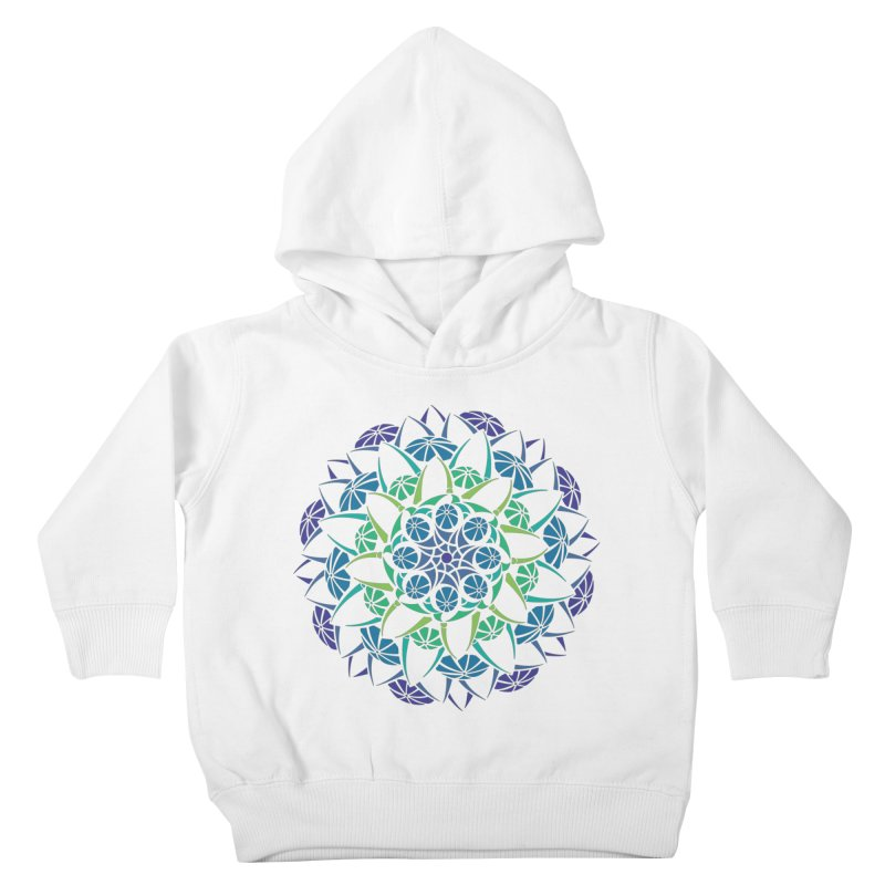 Blooming Kids Toddler Pullover Hoody by tomcornish's Artist Shop