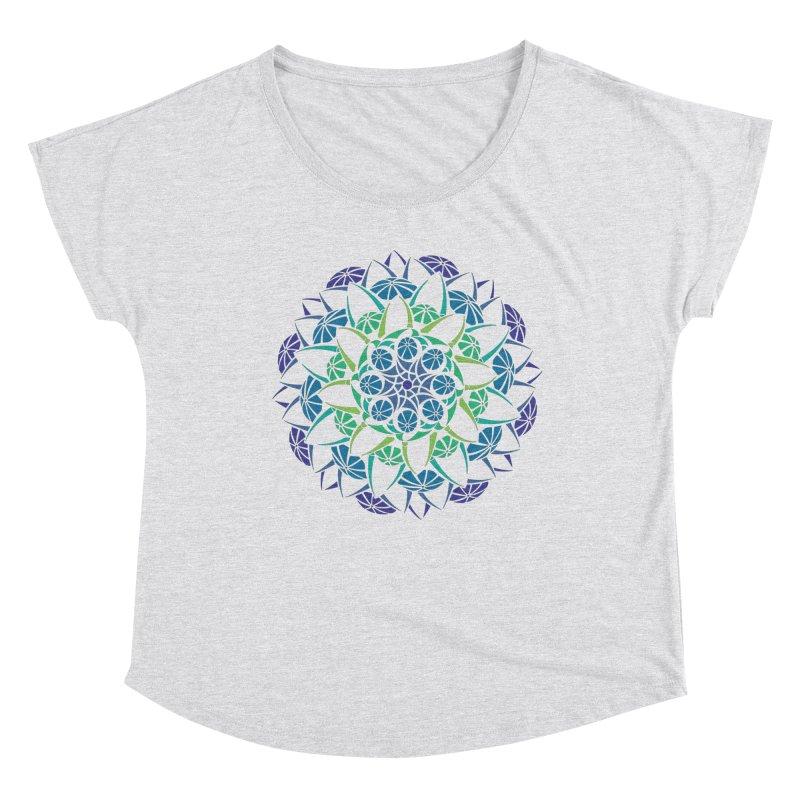 Blooming Women's Dolman Scoop Neck by tomcornish's Artist Shop