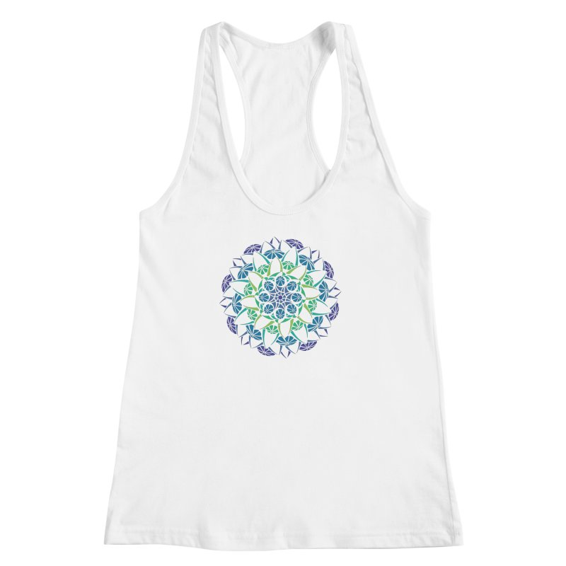 Blooming Women's Racerback Tank by tomcornish's Artist Shop