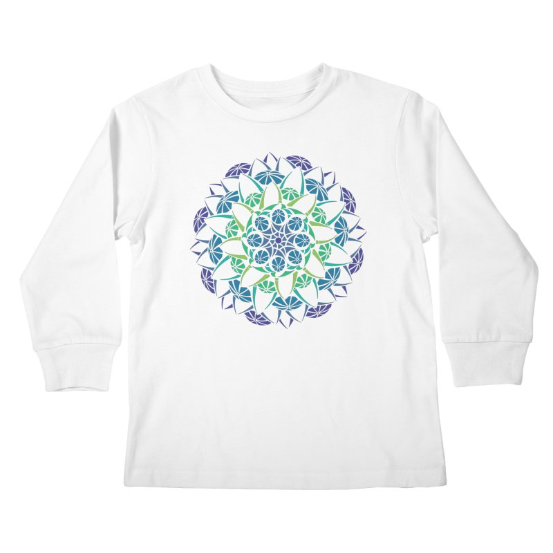 Blooming Kids Longsleeve T-Shirt by tomcornish's Artist Shop