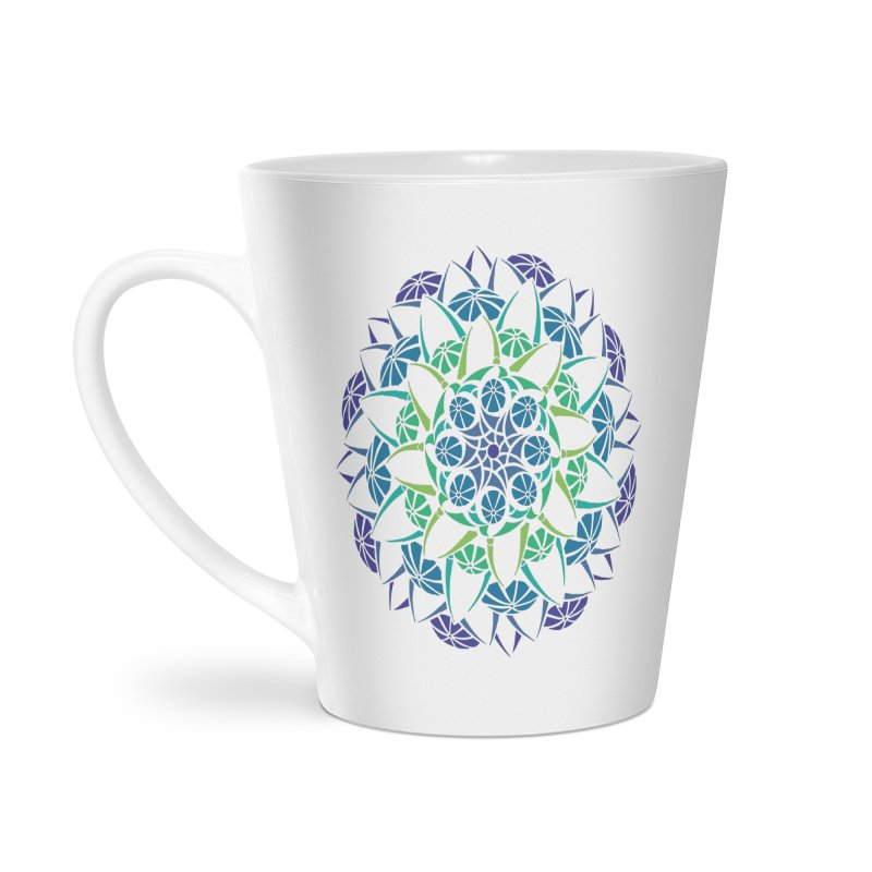 Blooming Accessories Latte Mug by tomcornish's Artist Shop