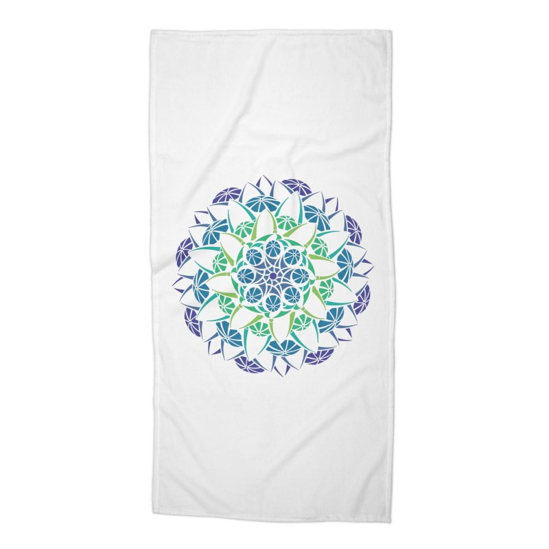 Blooming Accessories Beach Towel by tomcornish's Artist Shop