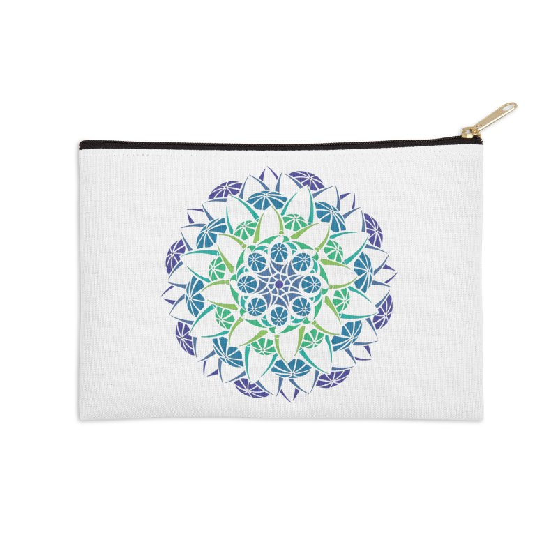 Blooming Accessories Zip Pouch by tomcornish's Artist Shop