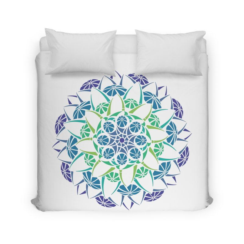 Blooming Home Duvet by tomcornish's Artist Shop