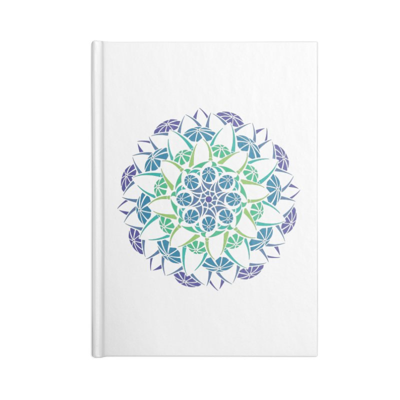 Blooming Accessories Lined Journal Notebook by tomcornish's Artist Shop