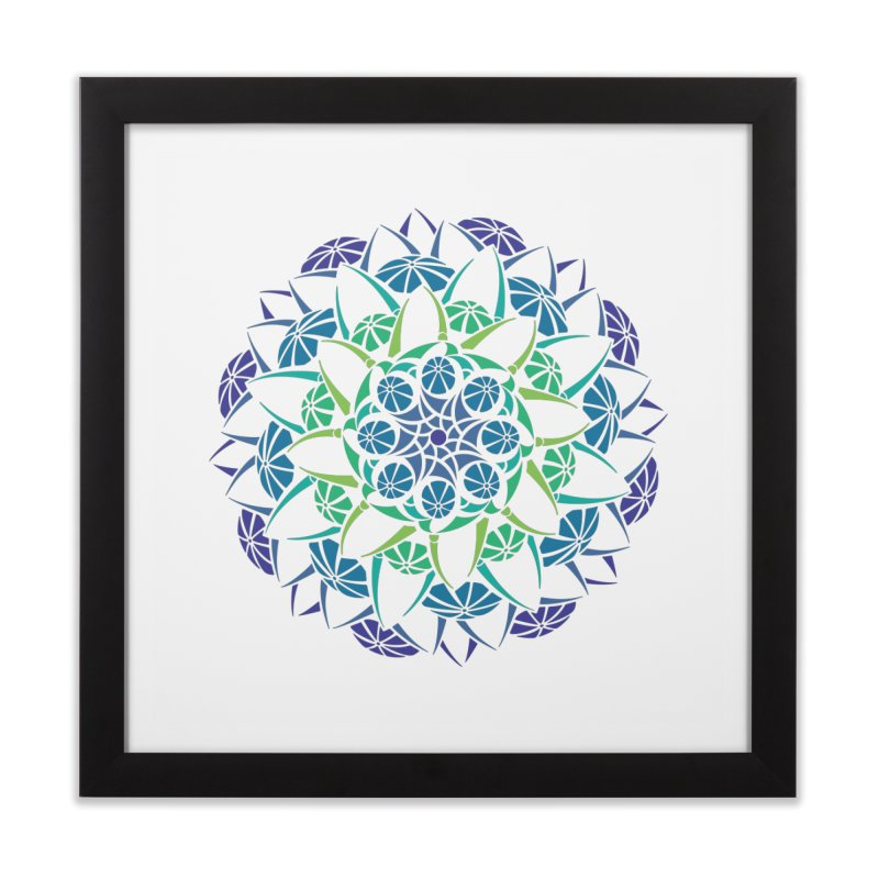 Blooming Home Framed Fine Art Print by tomcornish's Artist Shop