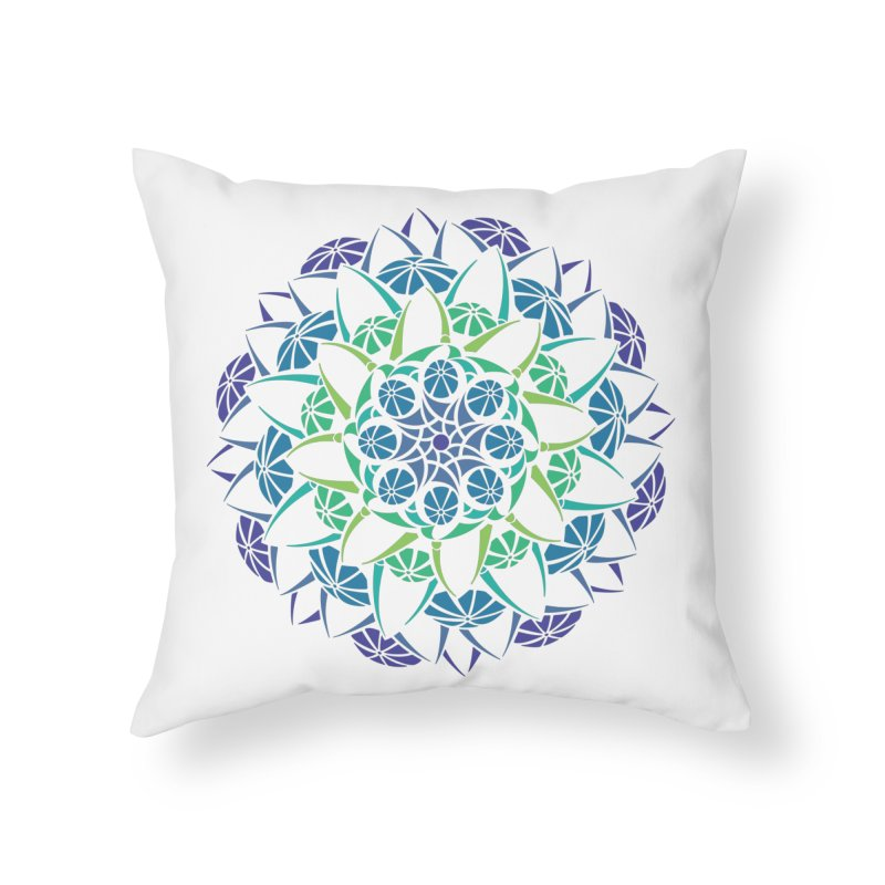 Blooming Home Throw Pillow by tomcornish's Artist Shop
