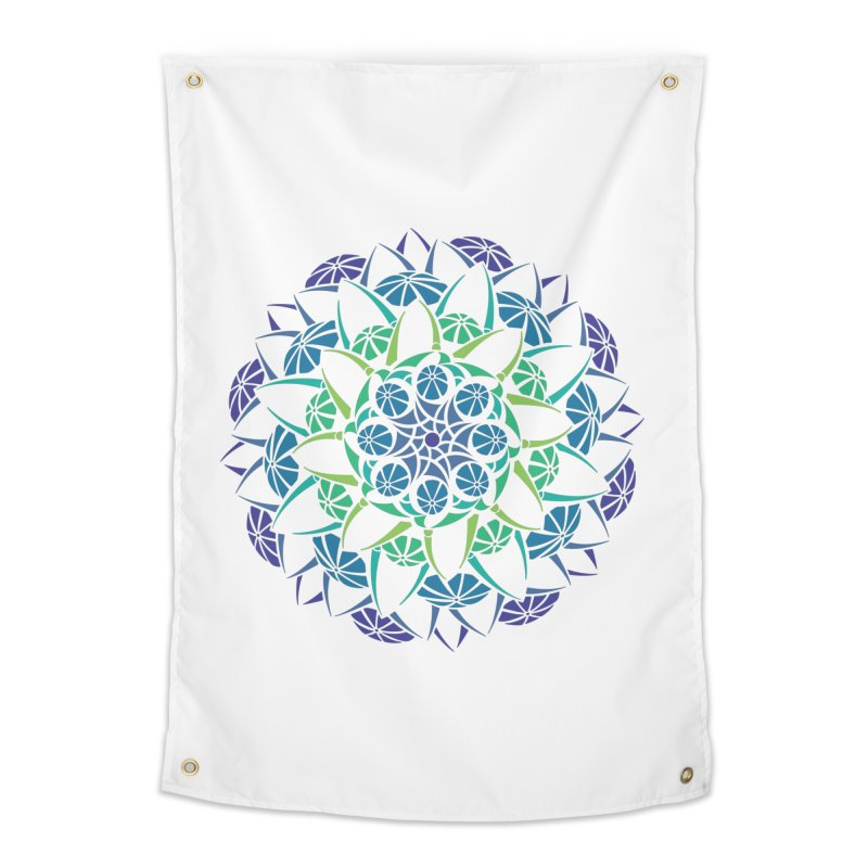 Blooming Home Tapestry by tomcornish's Artist Shop