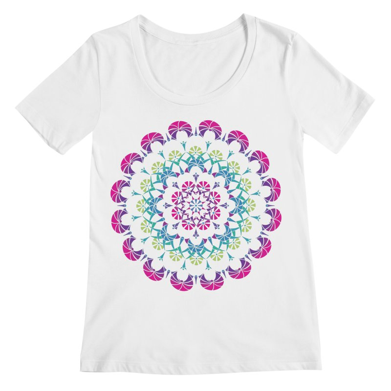 Bubbly Women's Regular Scoop Neck by tomcornish's Artist Shop