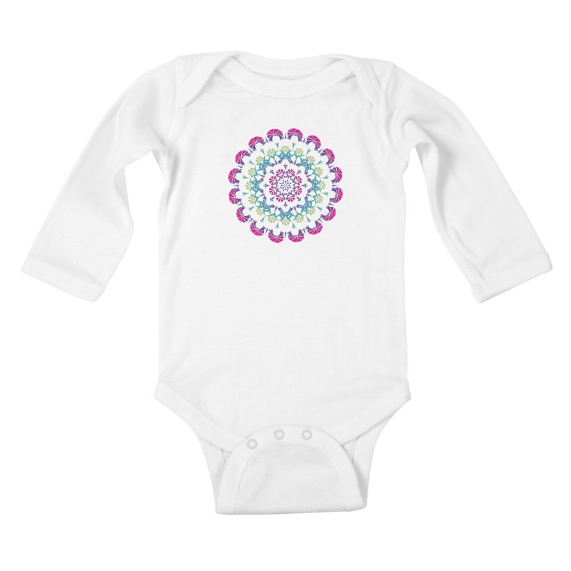 Bubbly Kids Baby Longsleeve Bodysuit by tomcornish's Artist Shop
