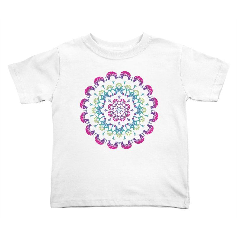 Bubbly Kids Toddler T-Shirt by tomcornish's Artist Shop