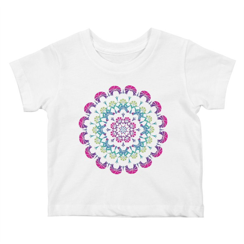 Bubbly Kids Baby T-Shirt by tomcornish's Artist Shop