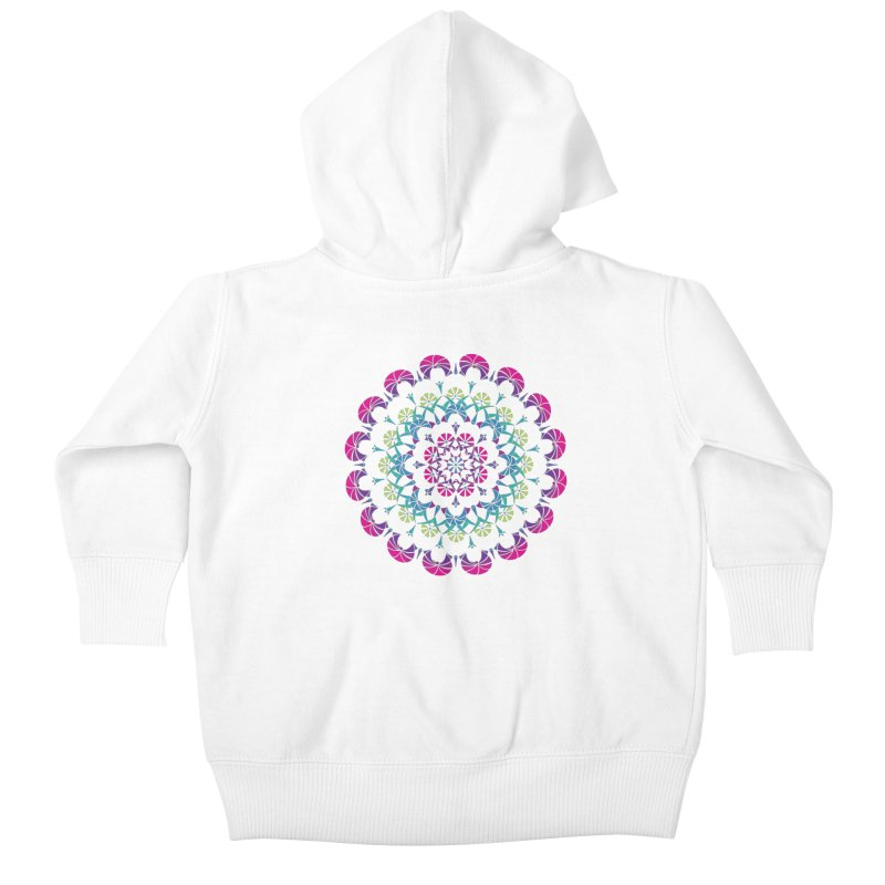 Bubbly Kids Baby Zip-Up Hoody by tomcornish's Artist Shop