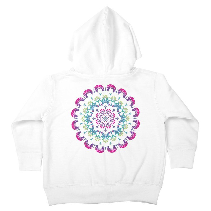 Bubbly Kids Toddler Zip-Up Hoody by tomcornish's Artist Shop