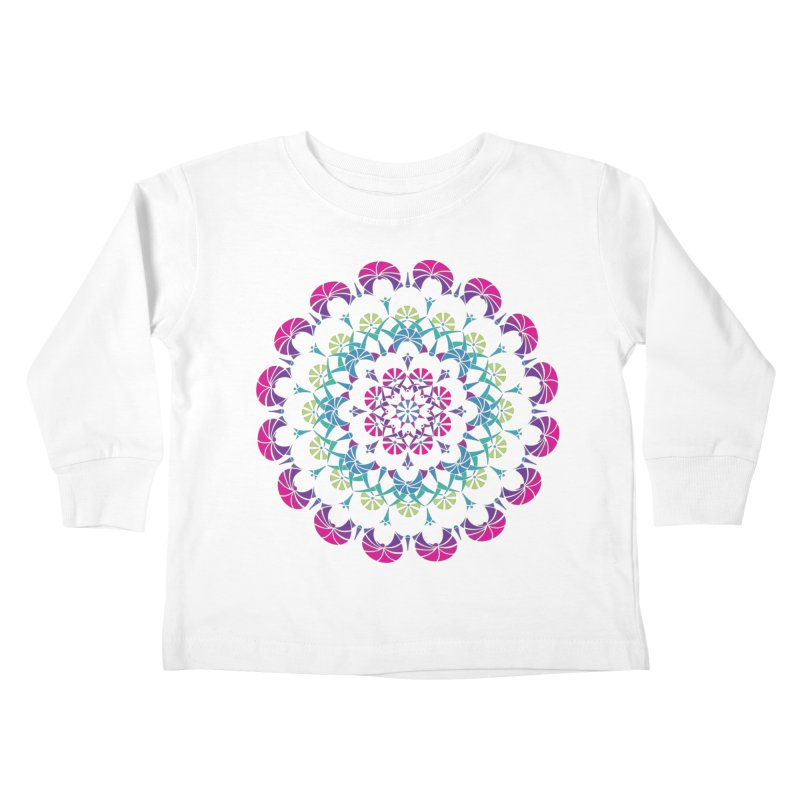 Bubbly Kids Toddler Longsleeve T-Shirt by tomcornish's Artist Shop