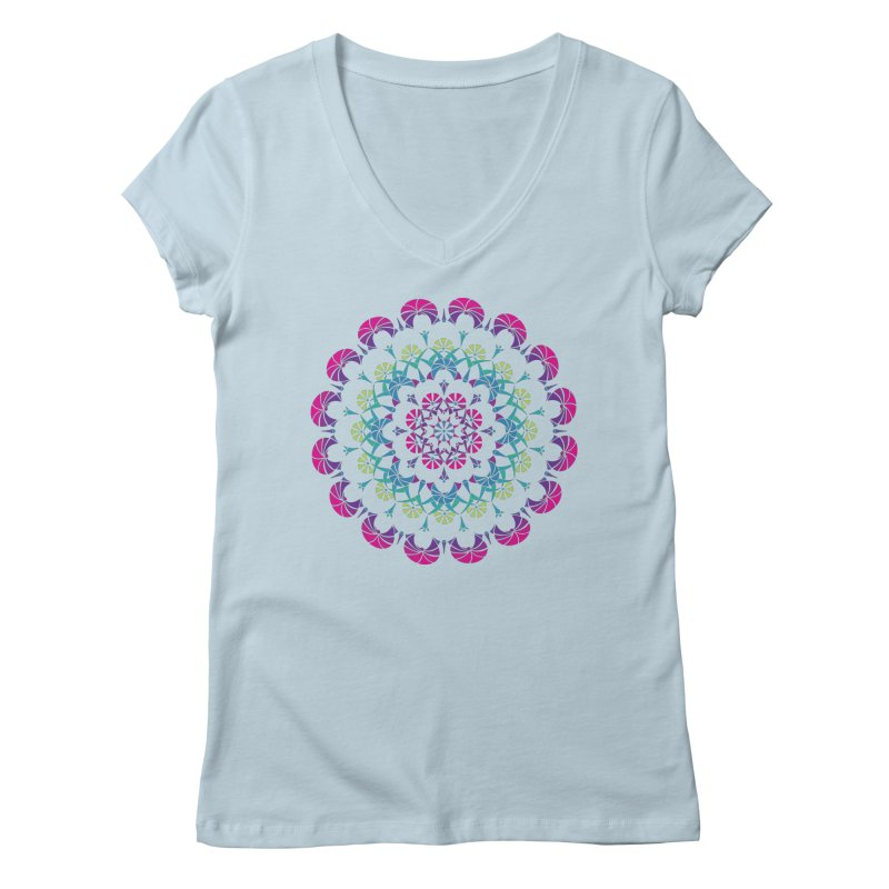 Bubbly Women's V-Neck by tomcornish's Artist Shop