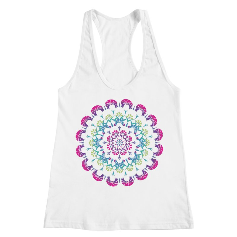 Bubbly Women's Racerback Tank by tomcornish's Artist Shop