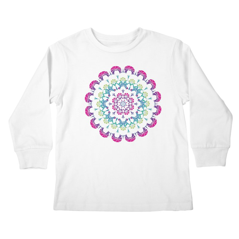 Bubbly Kids Longsleeve T-Shirt by tomcornish's Artist Shop