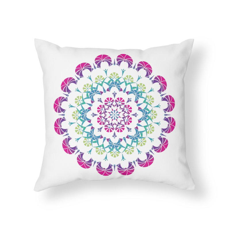 Bubbly Home Throw Pillow by tomcornish's Artist Shop