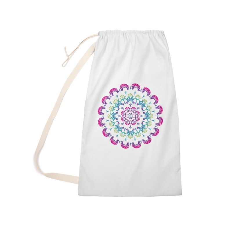 Bubbly Accessories Laundry Bag Bag by tomcornish's Artist Shop