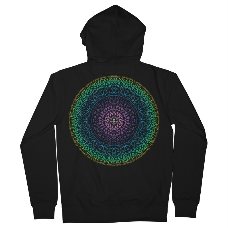 Doodle 13 Reversed Women's French Terry Zip-Up Hoody by tomcornish's Artist Shop