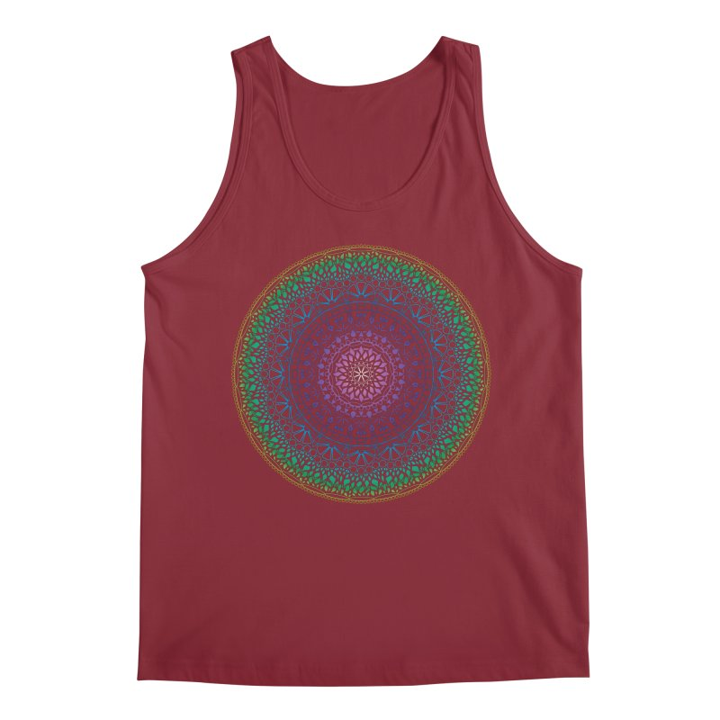 Doodle 13 Reversed Men's Tank by tomcornish's Artist Shop