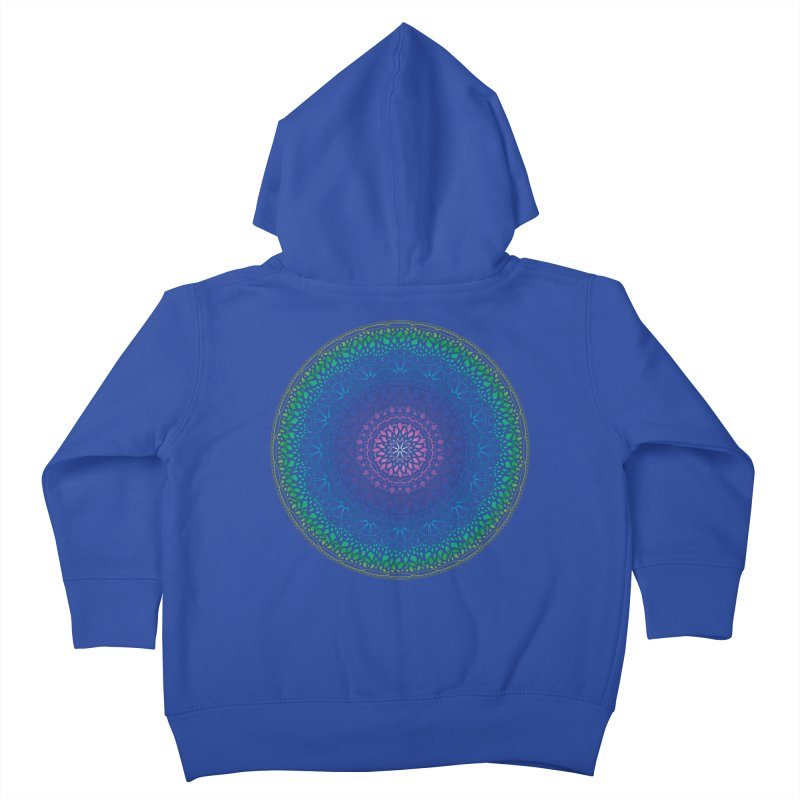 Doodle 13 Reversed Kids Toddler Zip-Up Hoody by tomcornish's Artist Shop