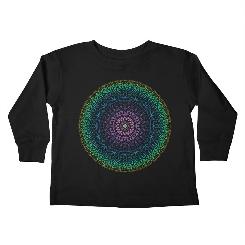 Doodle 13 Reversed Kids Toddler Longsleeve T-Shirt by tomcornish's Artist Shop