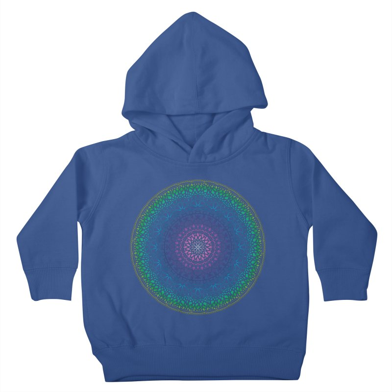Doodle 13 Reversed Kids Toddler Pullover Hoody by tomcornish's Artist Shop