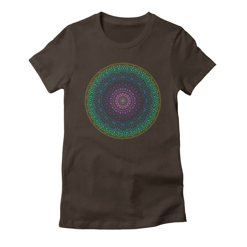 Doodle 13 Reversed Women's Fitted T-Shirt by tomcornish's Artist Shop