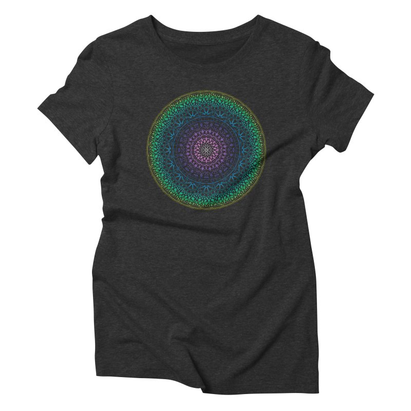 Doodle 13 Reversed Women's Triblend T-Shirt by tomcornish's Artist Shop
