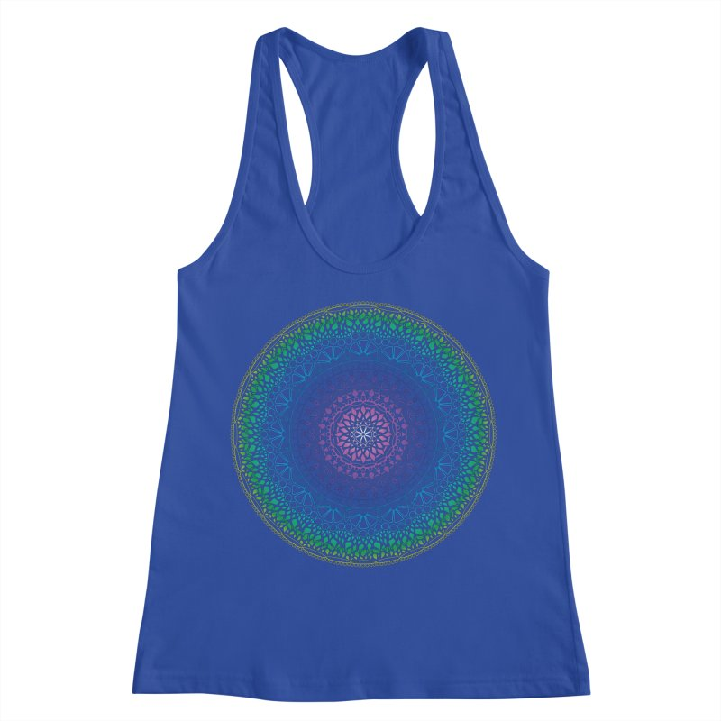 Doodle 13 Reversed Women's Racerback Tank by tomcornish's Artist Shop
