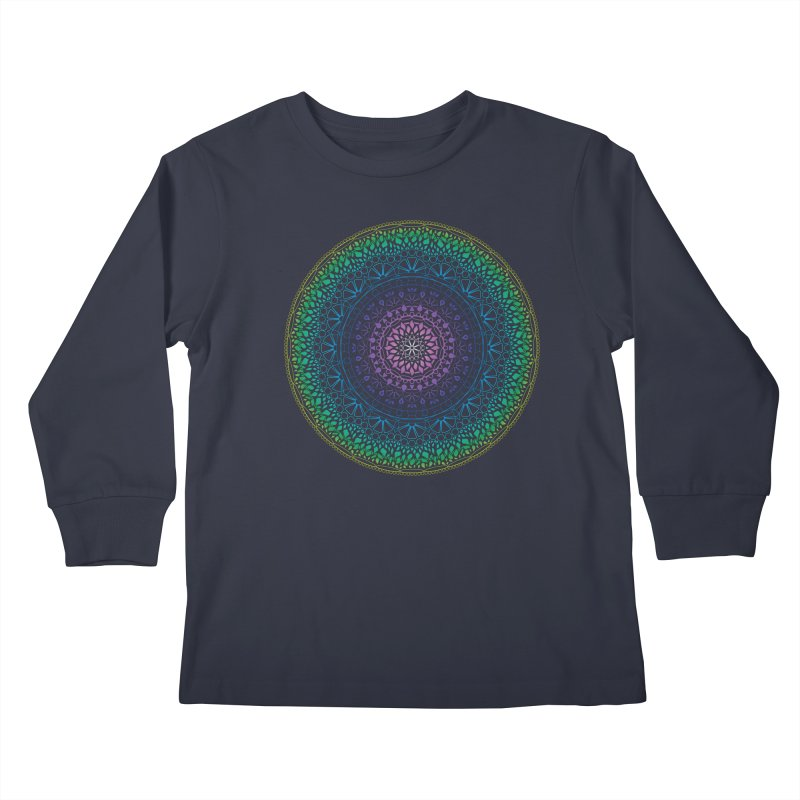 Doodle 13 Reversed Kids Longsleeve T-Shirt by tomcornish's Artist Shop