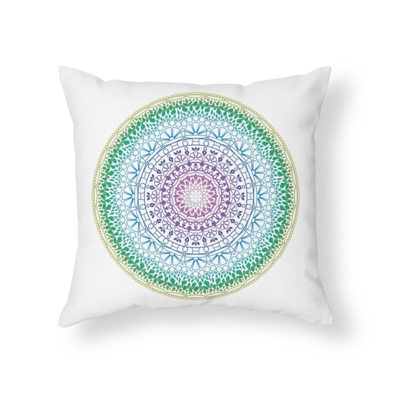 Doodle 13 Reversed Home Throw Pillow by tomcornish's Artist Shop