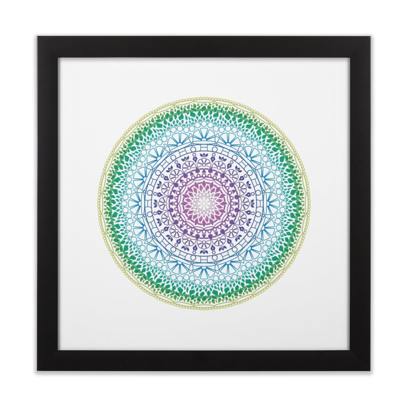 Doodle 13 Reversed Home Framed Fine Art Print by tomcornish's Artist Shop