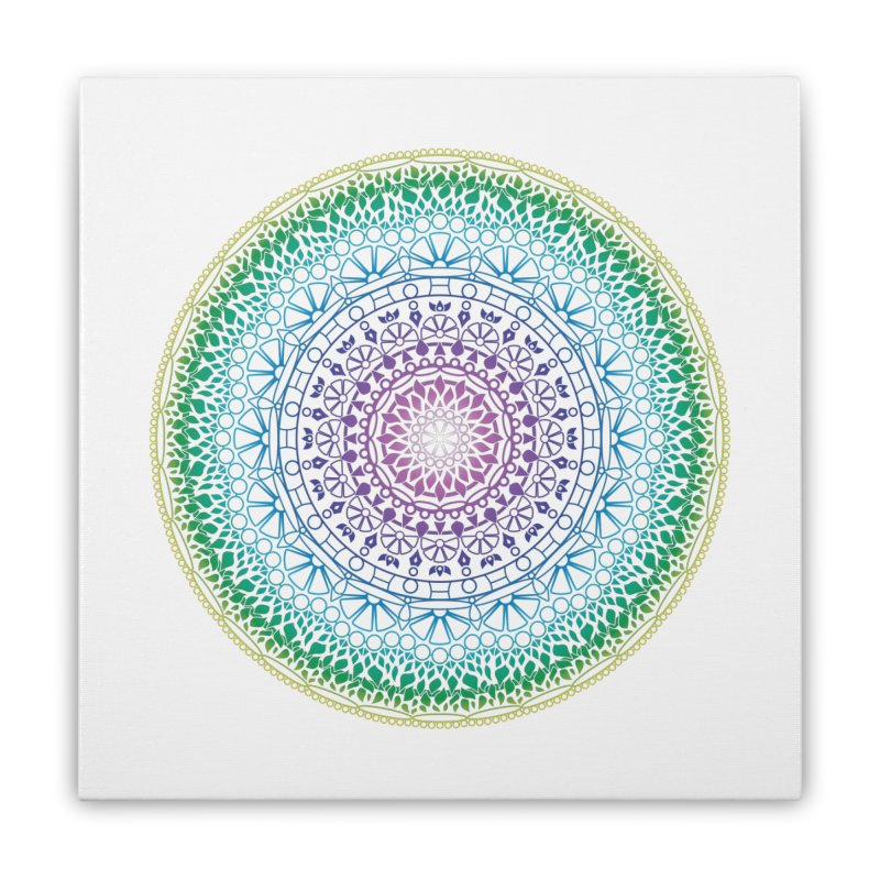 Doodle 13 Reversed Home Stretched Canvas by tomcornish's Artist Shop