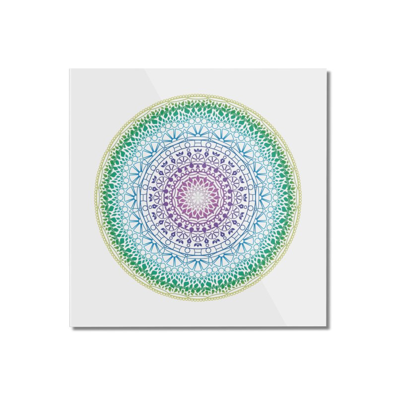 Doodle 13 Reversed Home Mounted Acrylic Print by tomcornish's Artist Shop