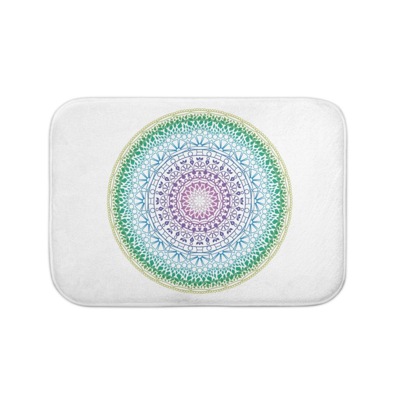 Doodle 13 Reversed Home Bath Mat by tomcornish's Artist Shop