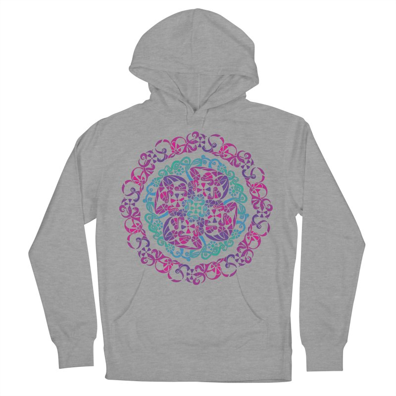 Detailed Women's French Terry Pullover Hoody by tomcornish's Artist Shop