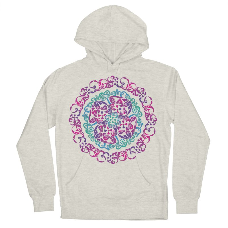 Detailed Men's French Terry Pullover Hoody by tomcornish's Artist Shop