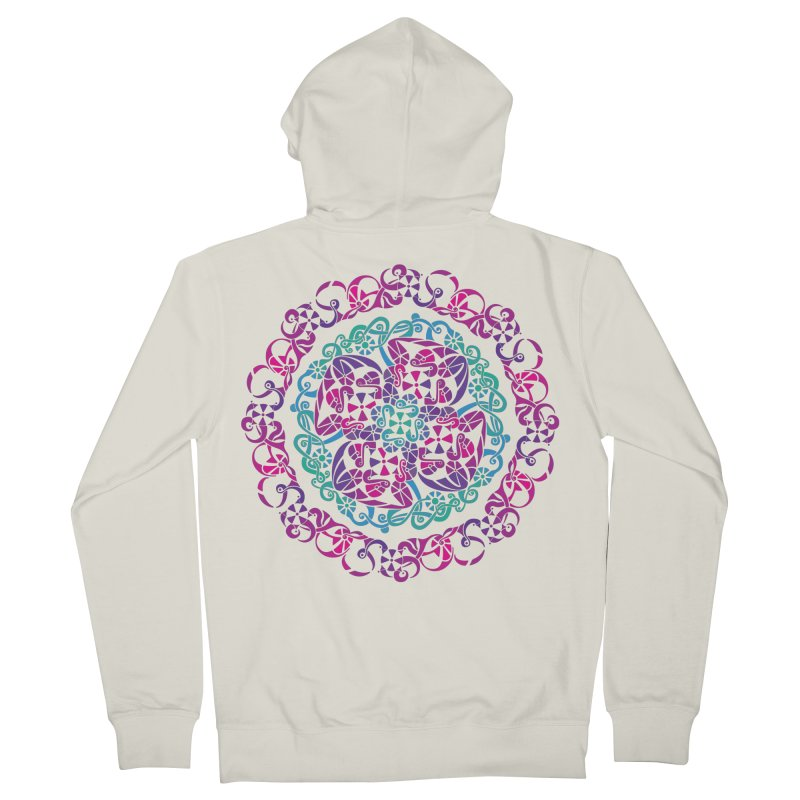 Detailed Women's French Terry Zip-Up Hoody by tomcornish's Artist Shop