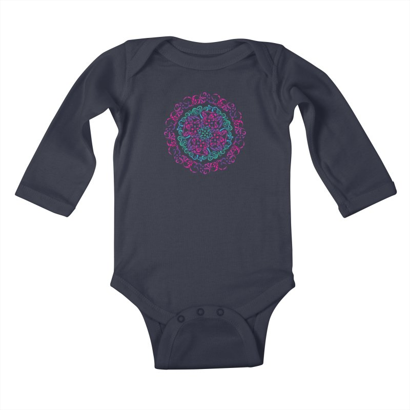 Detailed Kids Baby Longsleeve Bodysuit by tomcornish's Artist Shop