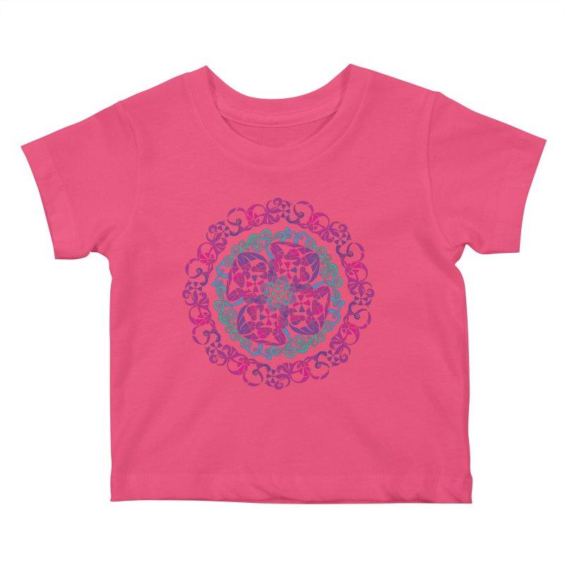 Detailed Kids Baby T-Shirt by tomcornish's Artist Shop